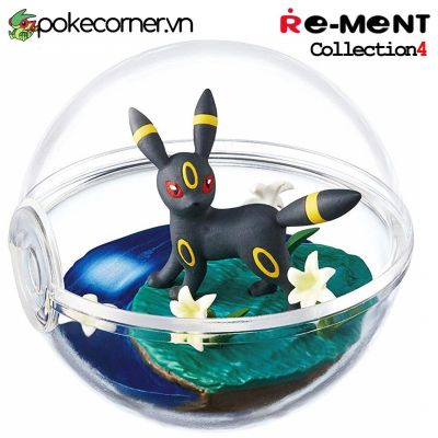 Quả Cầu Pokémon Re-Ment Pokémon Terrarium Collection 4 - Umbreon