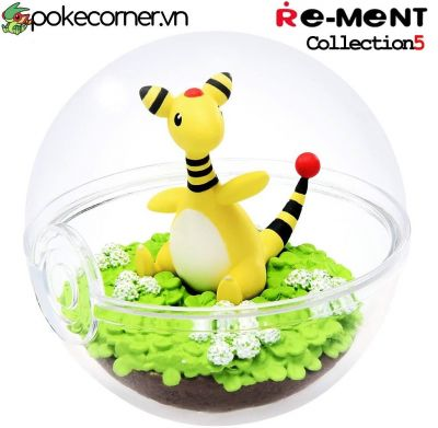 Quả Cầu Pokémon Re-Ment Pokémon Terrarium Collection 5 - Ampharos