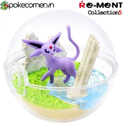 Quả Cầu Pokémon Re-Ment Pokémon Terrarium Collection 5 - Espeon
