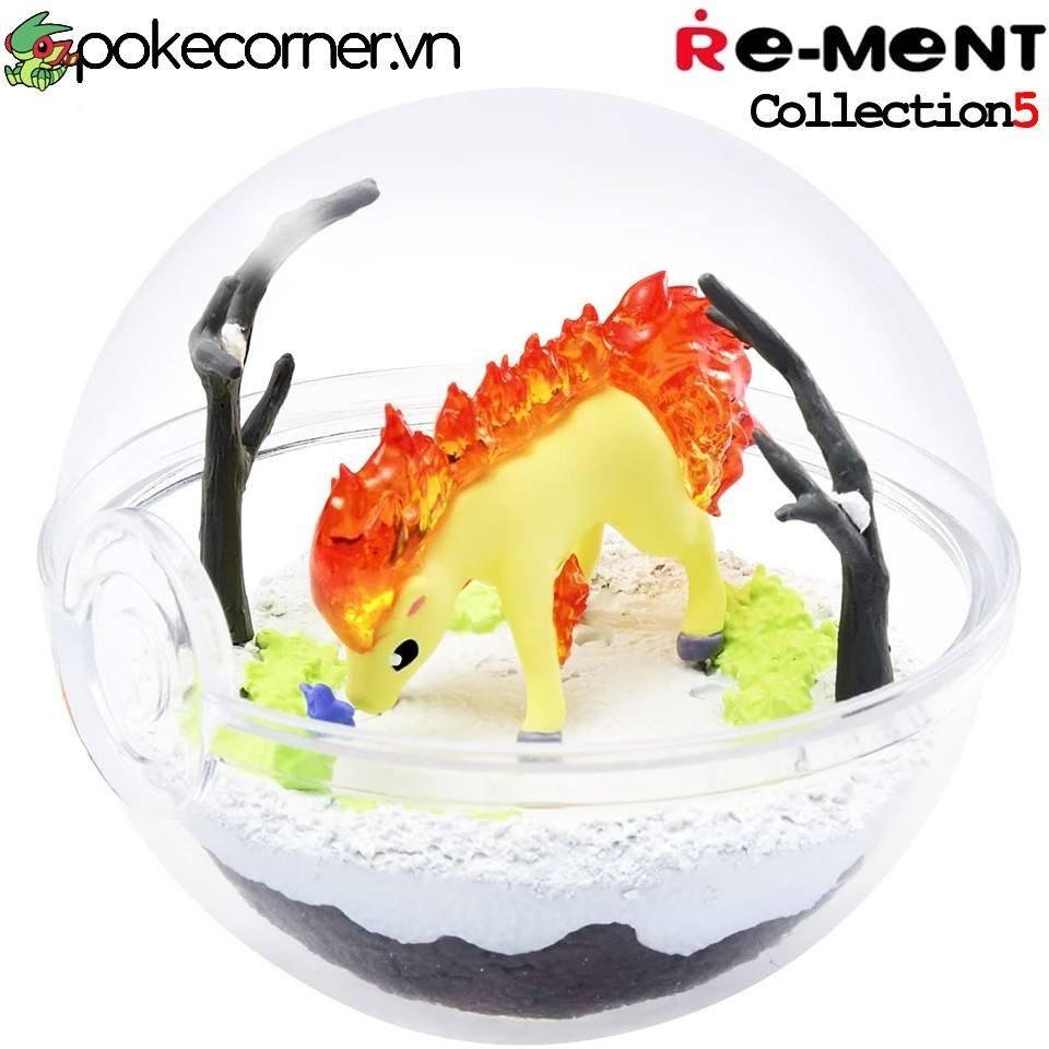 Quả Cầu Pokémon Re-Ment Pokémon Terrarium Collection 5 - Ponyta