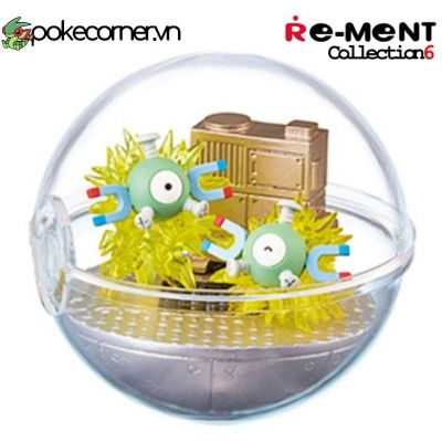 Quả Cầu Pokémon Re-Ment Pokémon Terrarium Collection 6 - Magnemite
