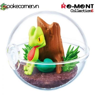 Quả Cầu Pokémon Re-Ment Pokémon Terrarium Collection 6 - Treecko