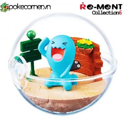 Quả Cầu Pokémon Re-Ment Pokémon Terrarium Collection 6 - Wobbuffet