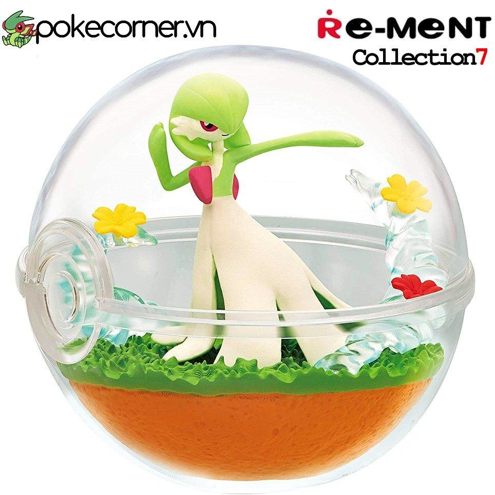 Quả Cầu Pokémon Re-Ment Pokémon Terrarium Collection 7 - Gardevoir