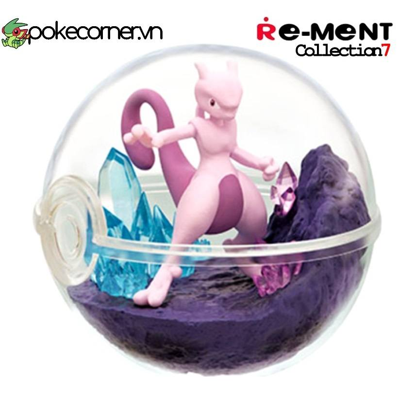 Quả Cầu Pokémon Re-Ment Pokémon Terrarium Collection 7 - Mewtwo
