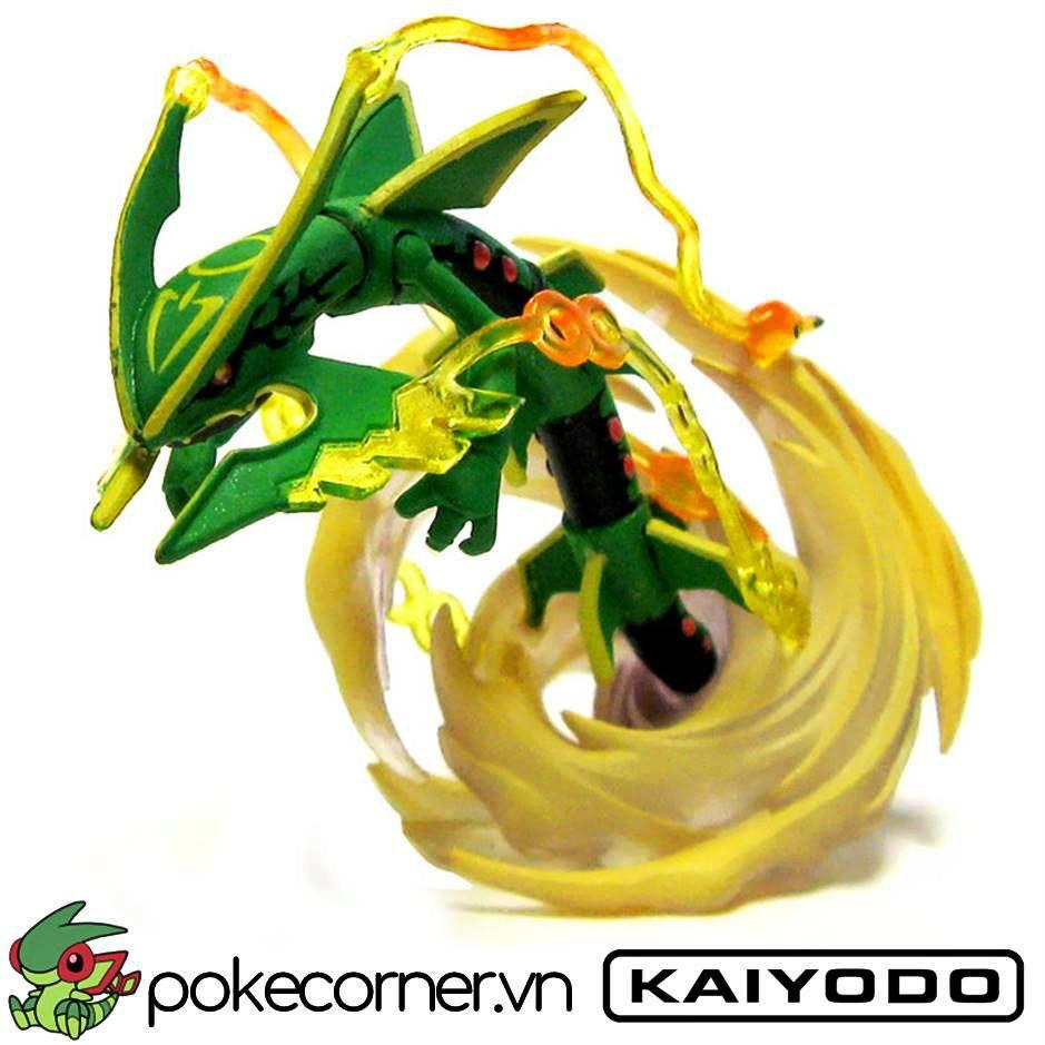 Mô hình Pokemon Mega Rayquaza của Kaiyodo
