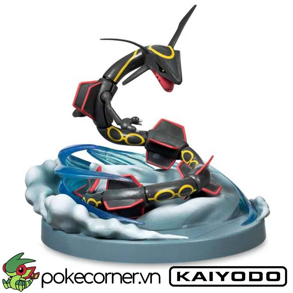 Mô hình Pokemon Shiny Rayquaza Đen của Kaiyodo
